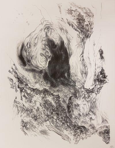 Synthesis I, 2017, litho, 42,5 x 32 cm