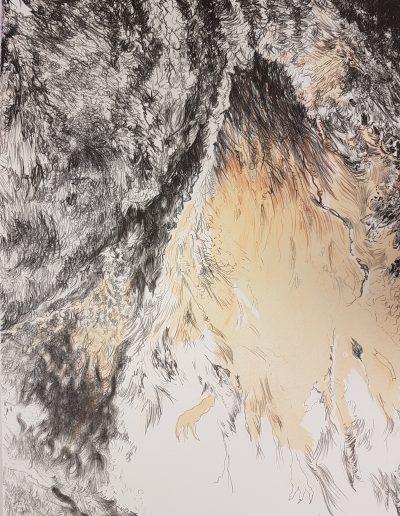 Synthesis II, 2017, litho, 66,5 x 50 cm