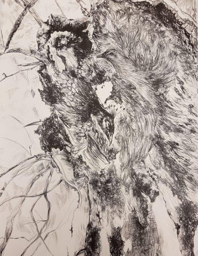 Synthesis III, 2019, litho, 70 x 50 cm