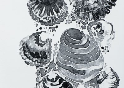 Oesters 2018 litho 33x50cm