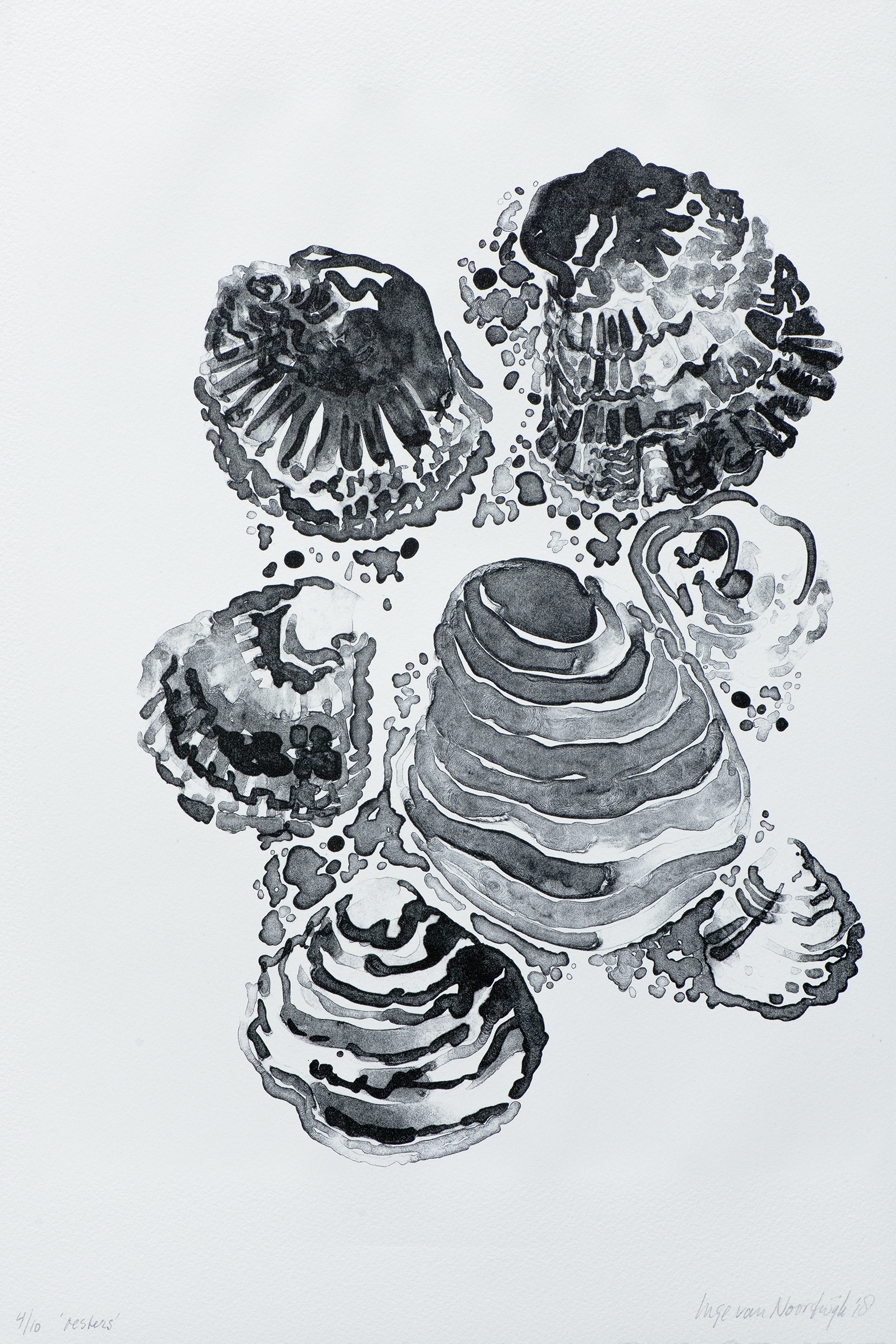Oesters 2018 litho